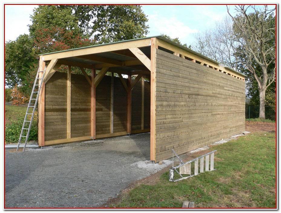 Construire Un Garage En Bois