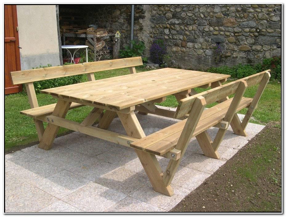 Construire Une Table De Jardin En Mosaique