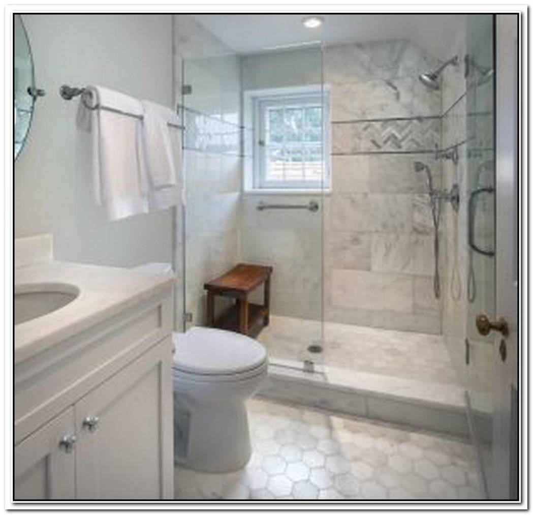 Contemporary Bathroom Small Space Traditional