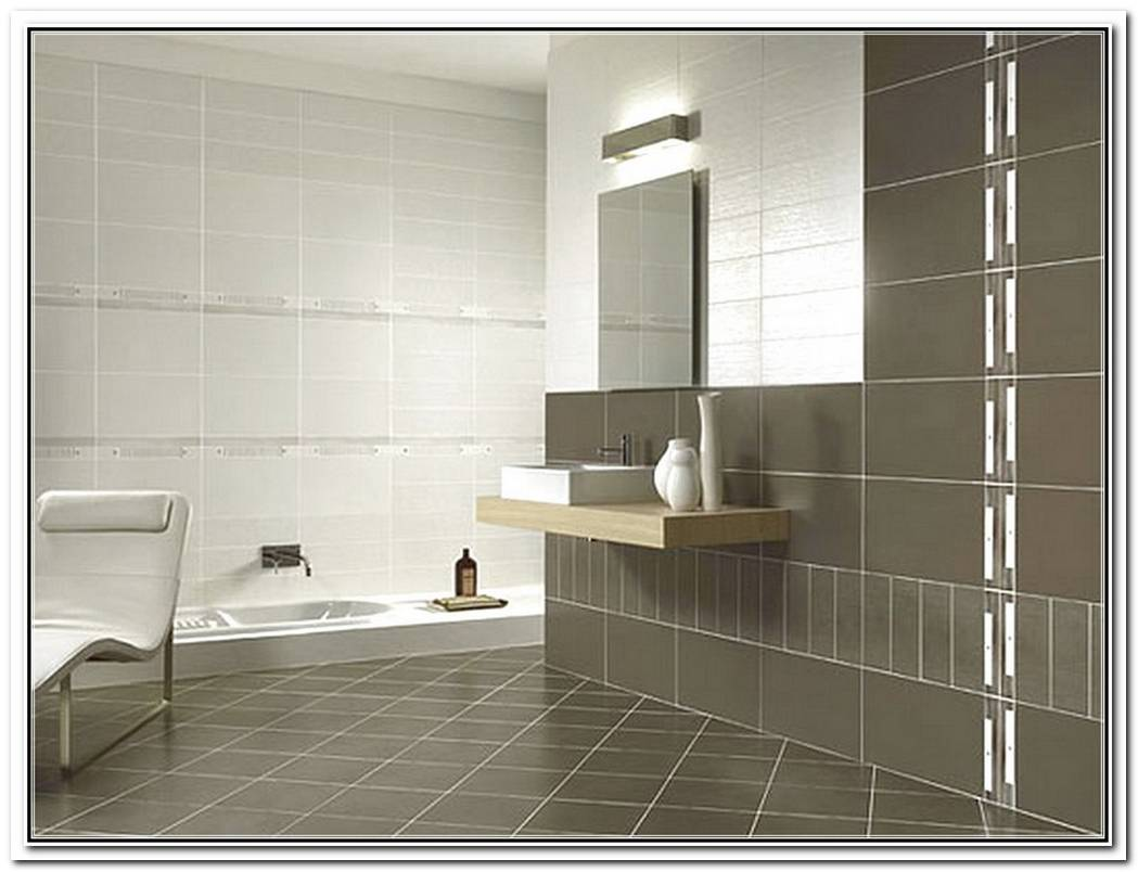 Contemporary Bathroom Wall Tile New Bathroom