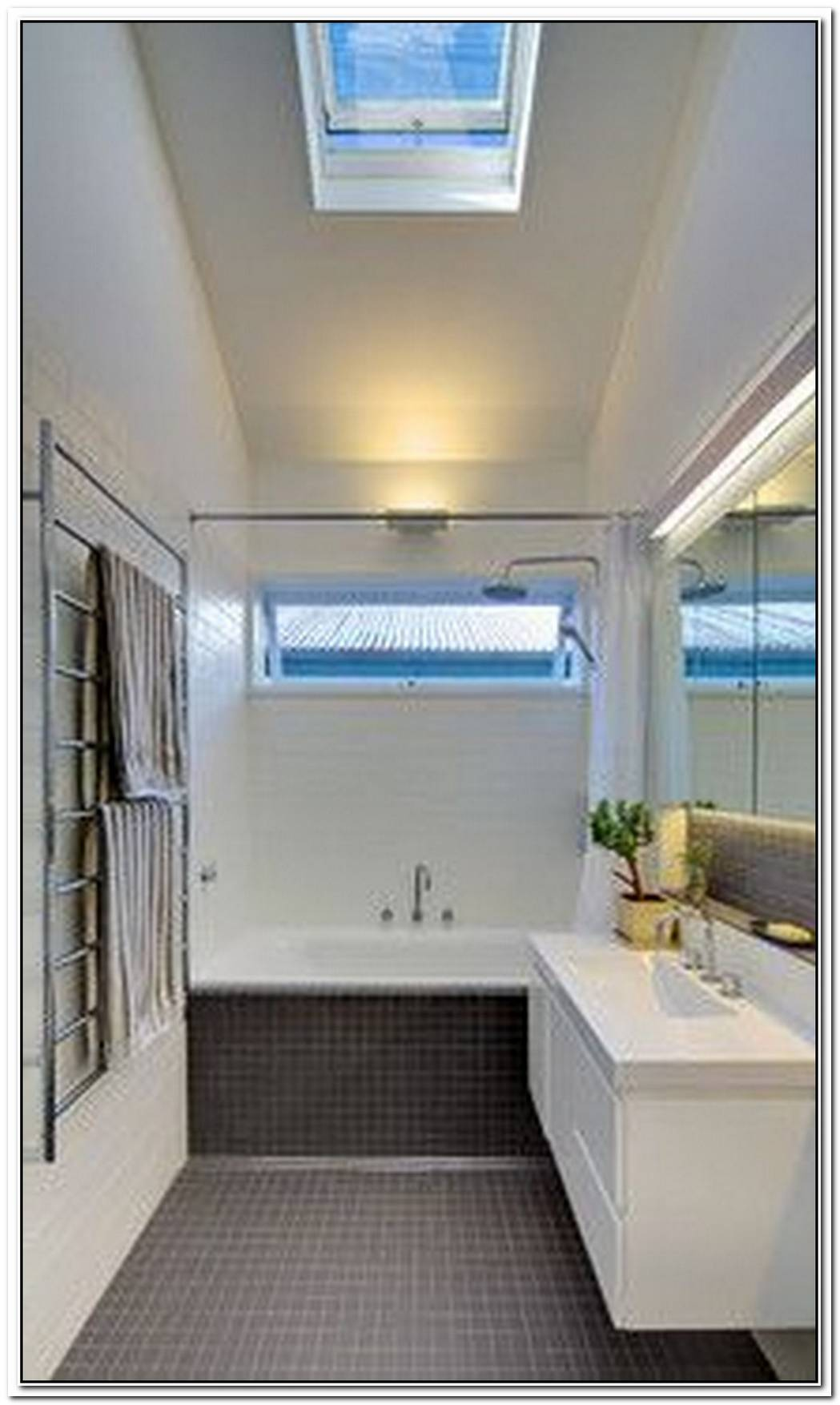 Contemporary Bathroom Window Awning