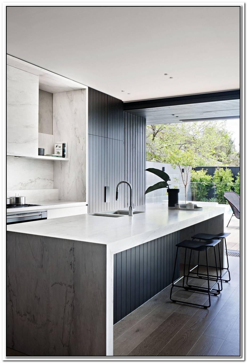 Contemporary Black Interior Design By Mim Design
