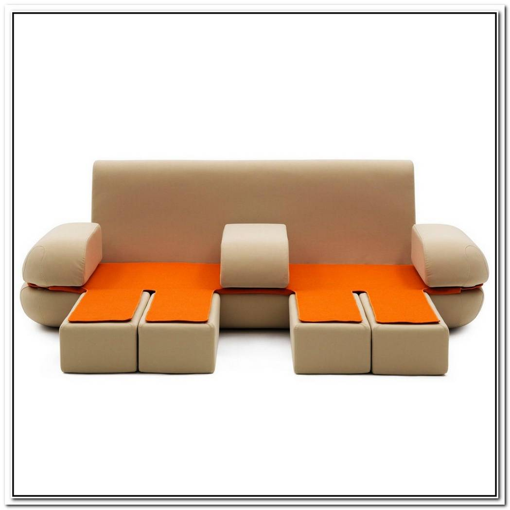 Contemporary Convertible Sofa By Emauele Magini