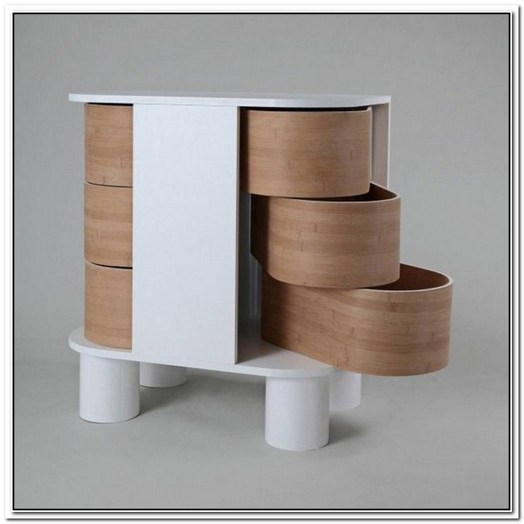 Contemporary Dresser Design That Slides OpenPeekaboo Dresser