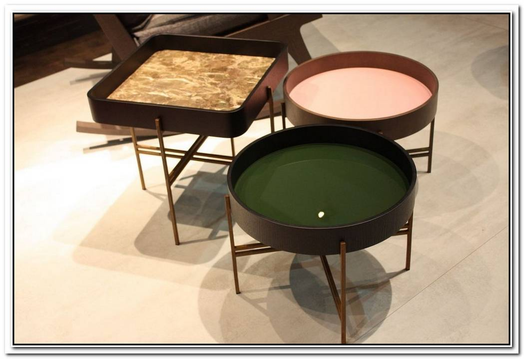Contemporary End Tables For Harmonious Combos