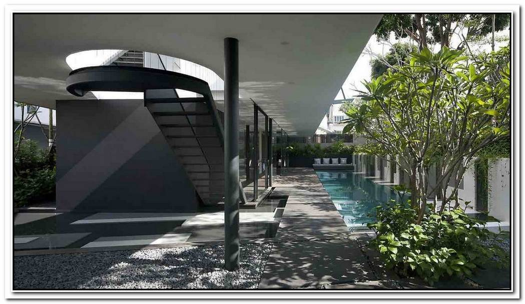 Contemporary Masterpiece In Singapore By Formwerkz Architects