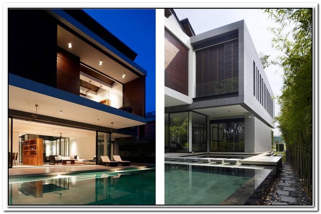 Contemporary Sentosa Residence In Singapore