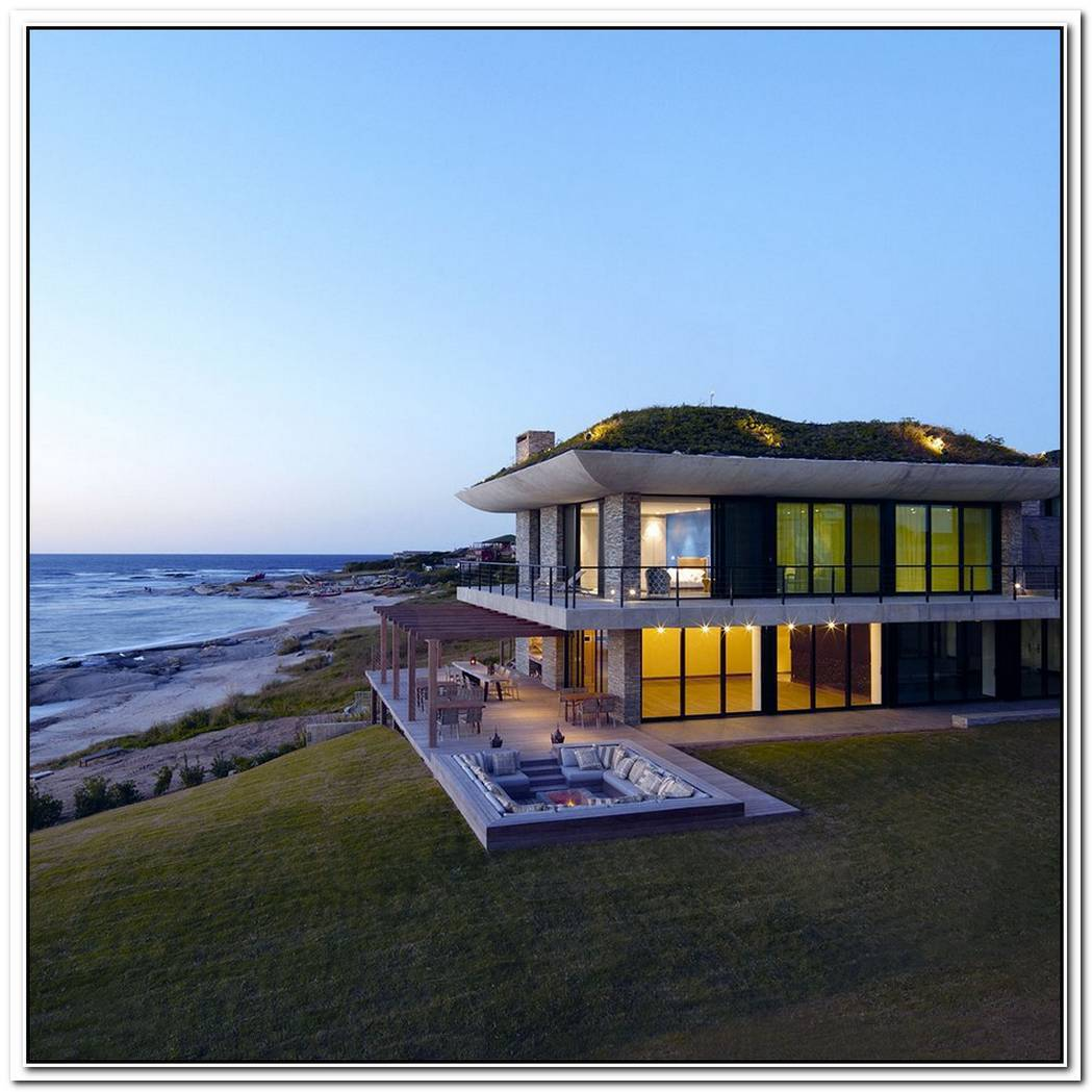 Contemporary Stone Residence In José Ignacio