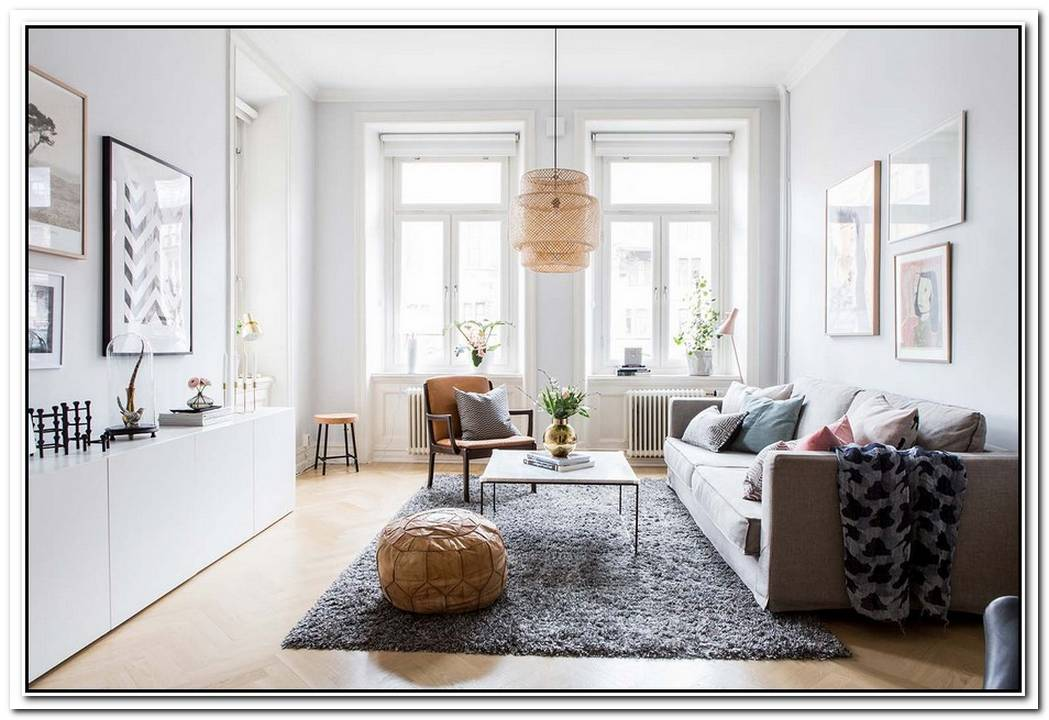 Contemporary Swedish Apartment Featuring Details Of The Past