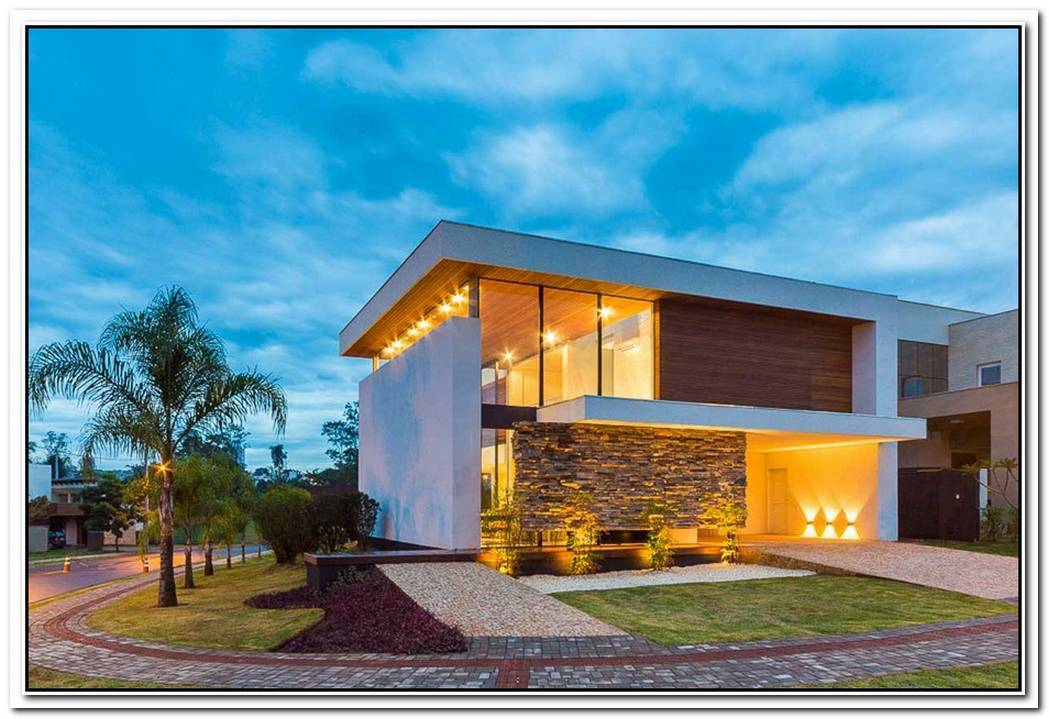 Contemporary Yet Elegant House In Brazil
