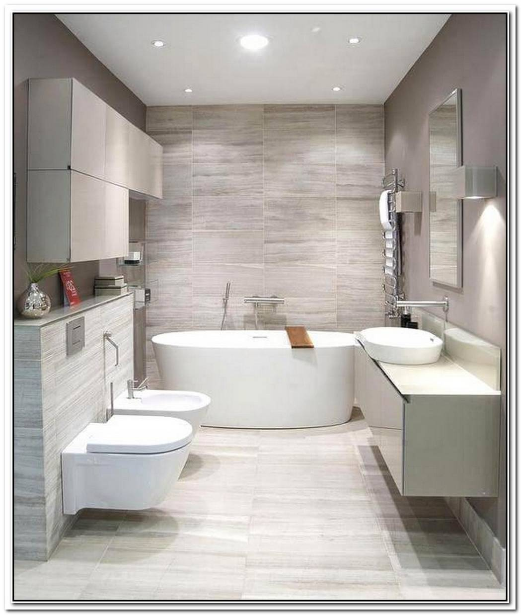 Contempory Contemporary Bathroom Sleek
