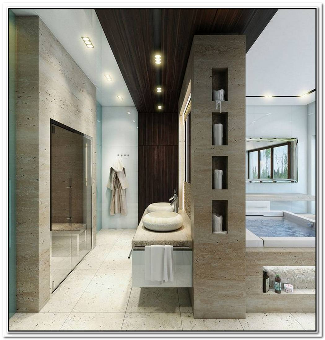 Cool Luxury Bathroom