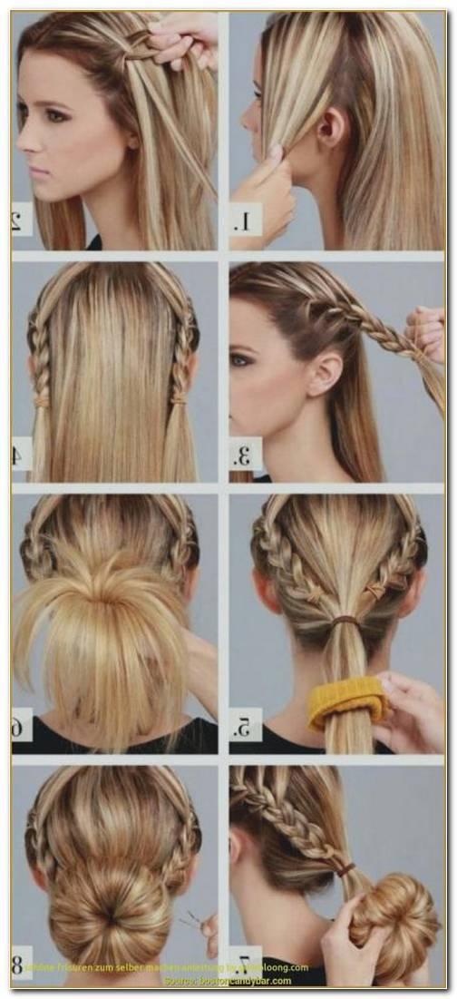 Coole Frisuren FüR Schulterlange Haare Zum Selber Machen