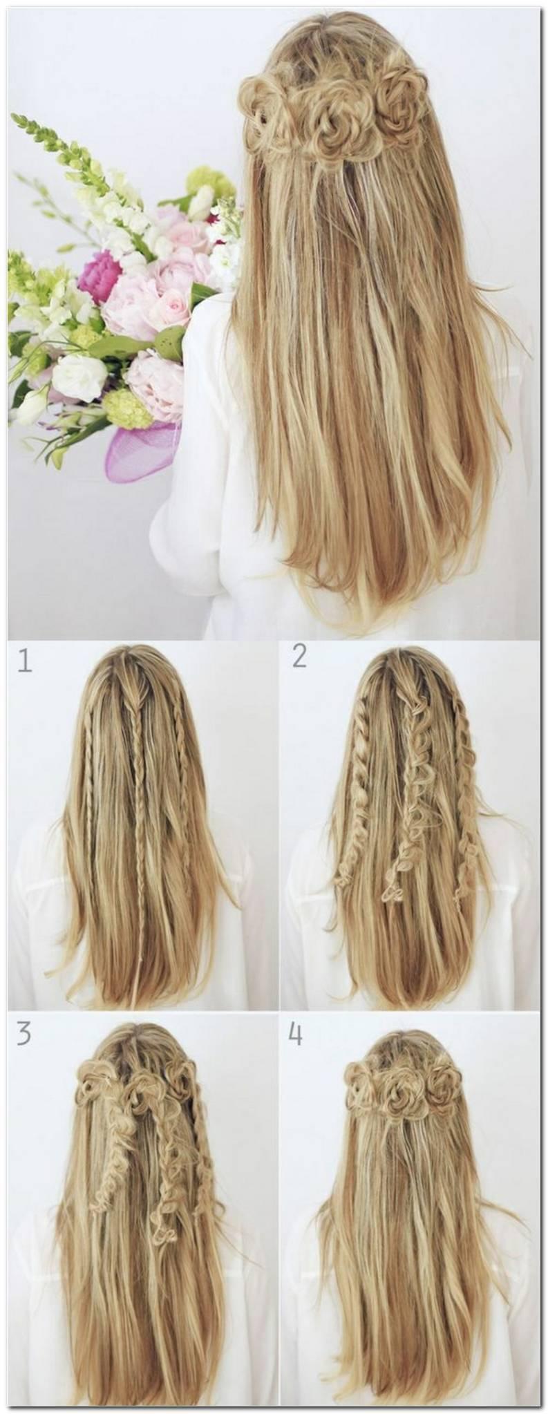Coole Frisuren Lange Haare Selber Machen