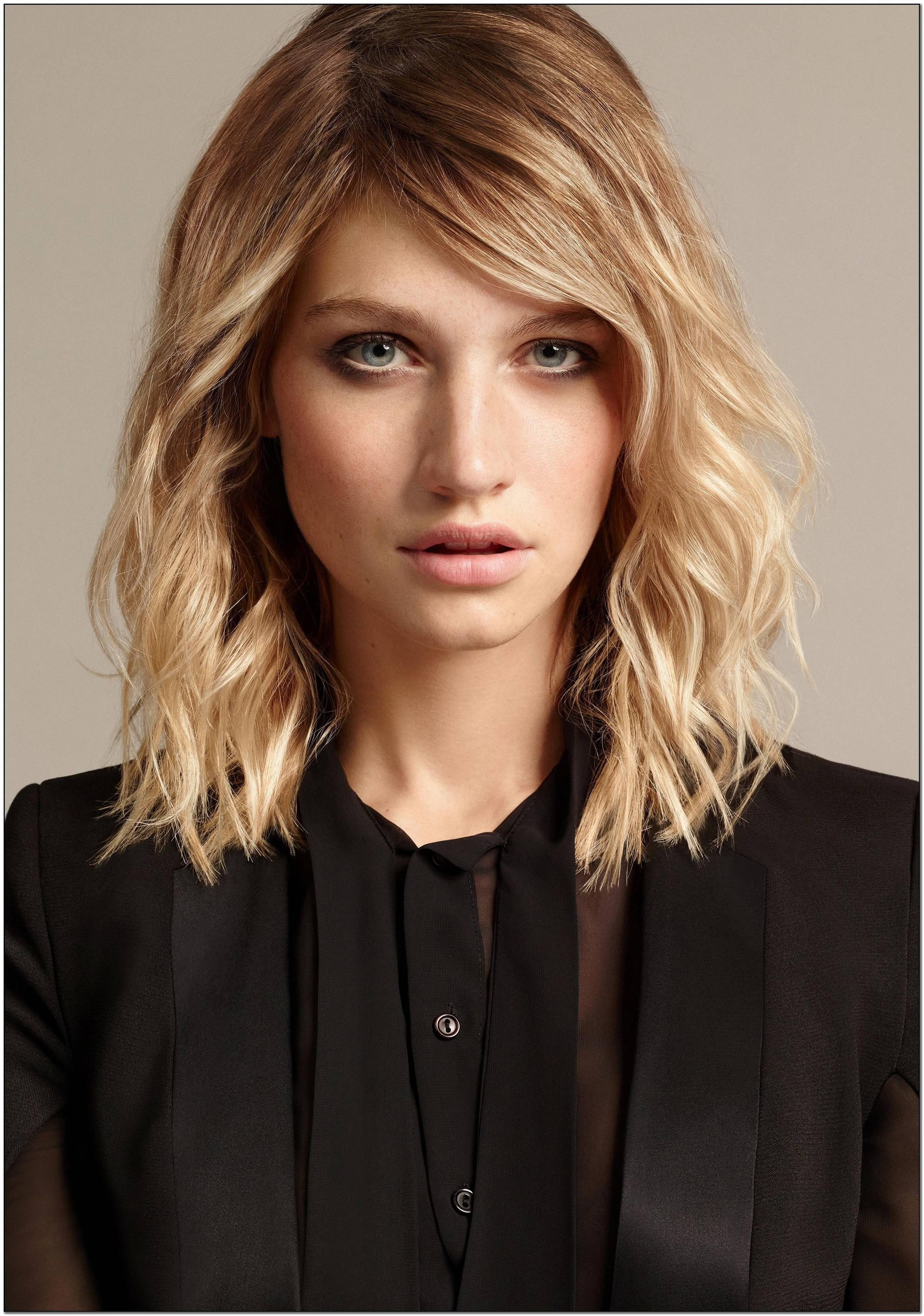 Coole Frisuren Mittellang Frauen