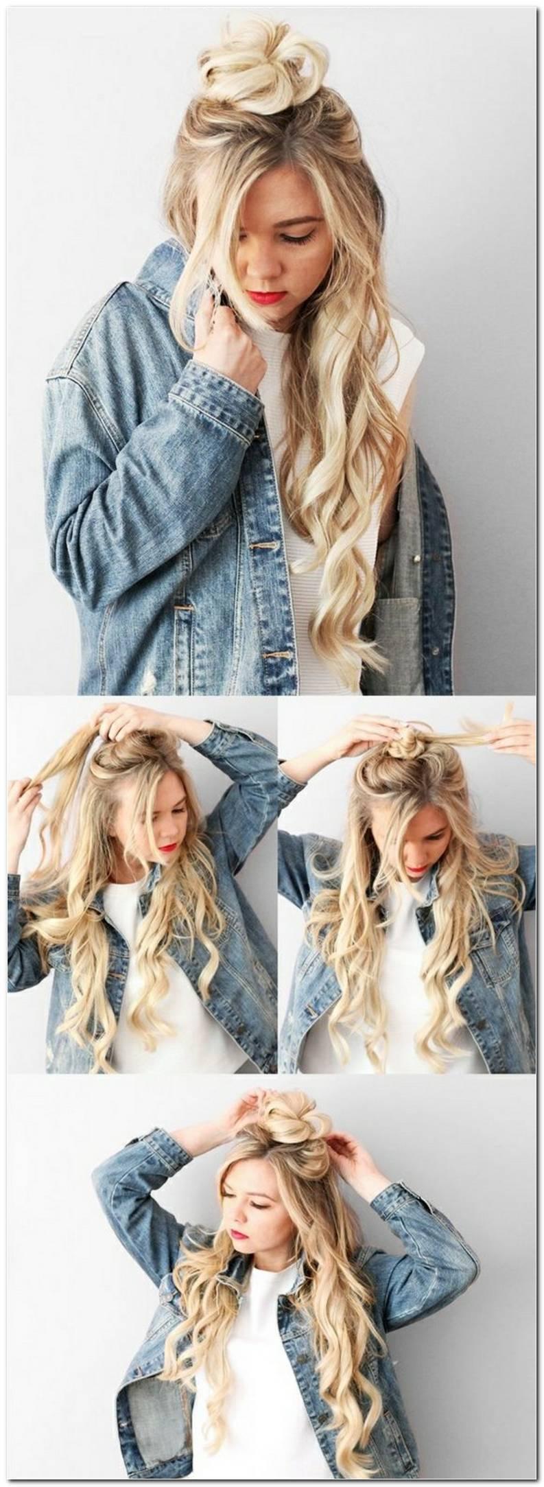 Coole Leichte Frisuren Zum Selbermachen