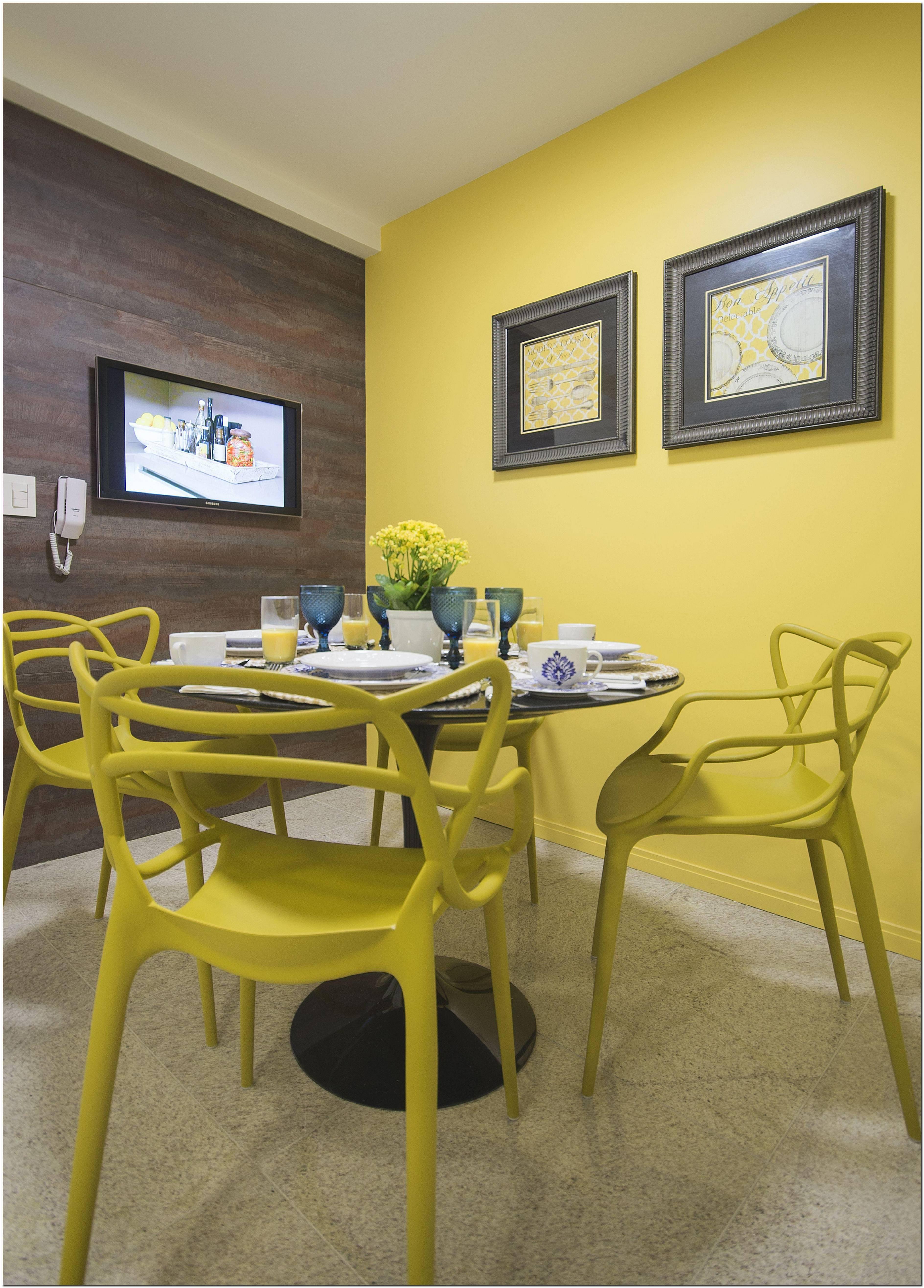 Cor Amarela Para Sala De Estar