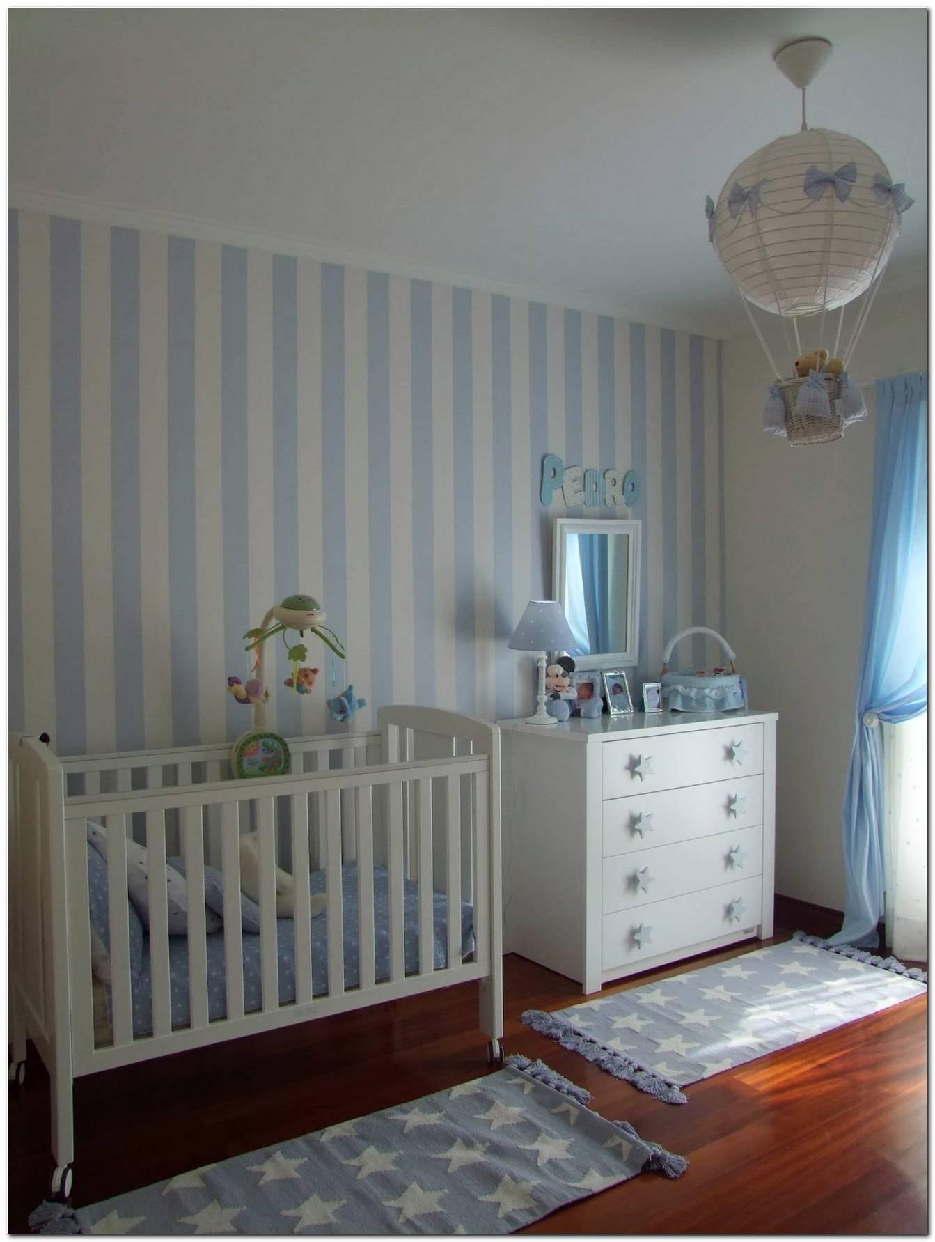Cor Azul Para Quarto De Bebe