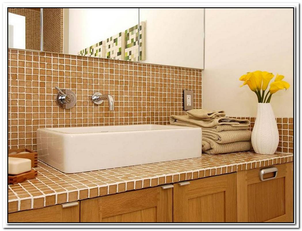 Countertop Bathroom Tile