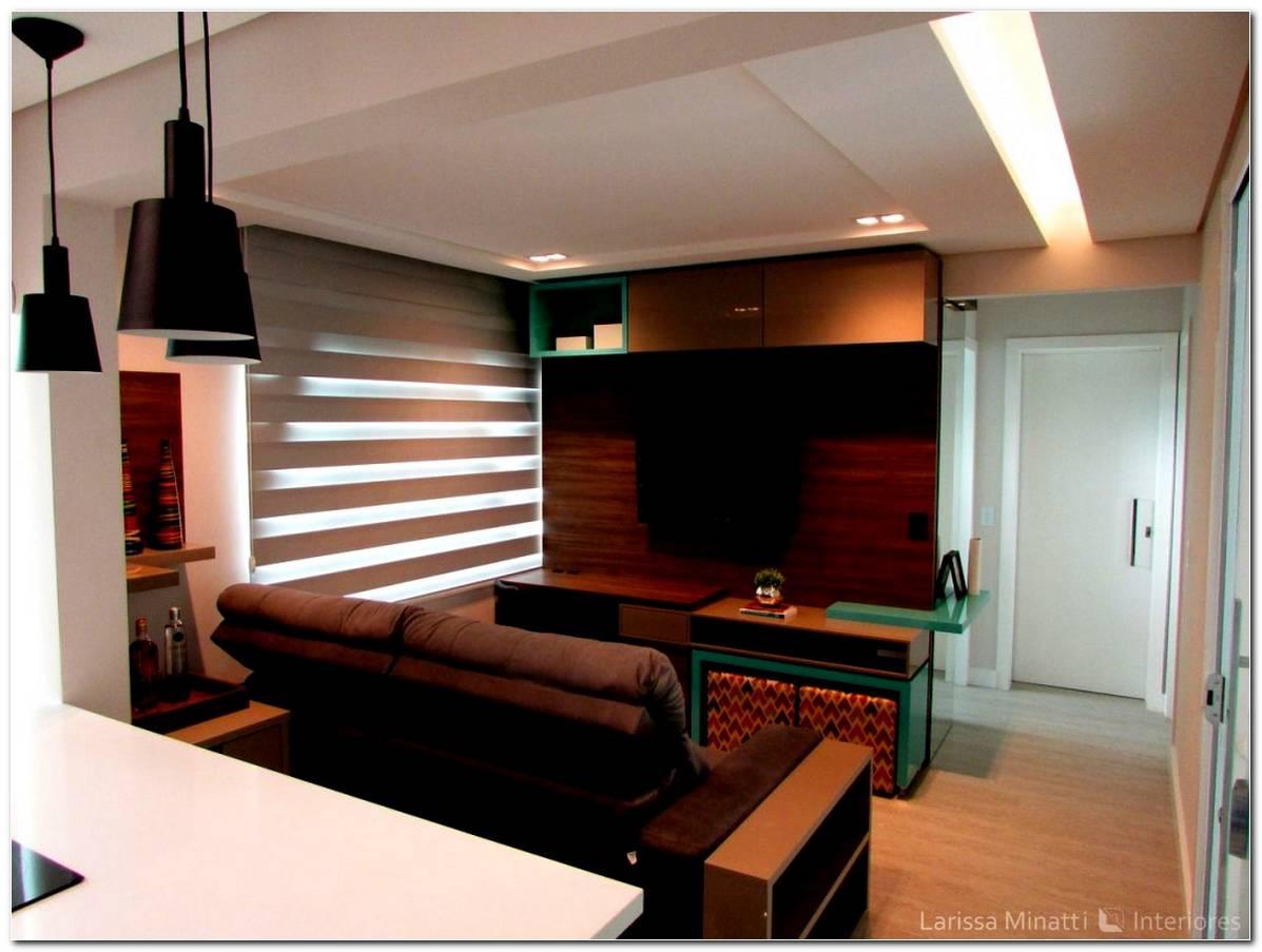 Cozinha Americana Com Sala De Tv Pequena