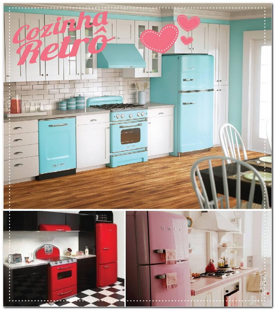 Cozinha Retrô E Vintage 45 Dicas Imperdíveis