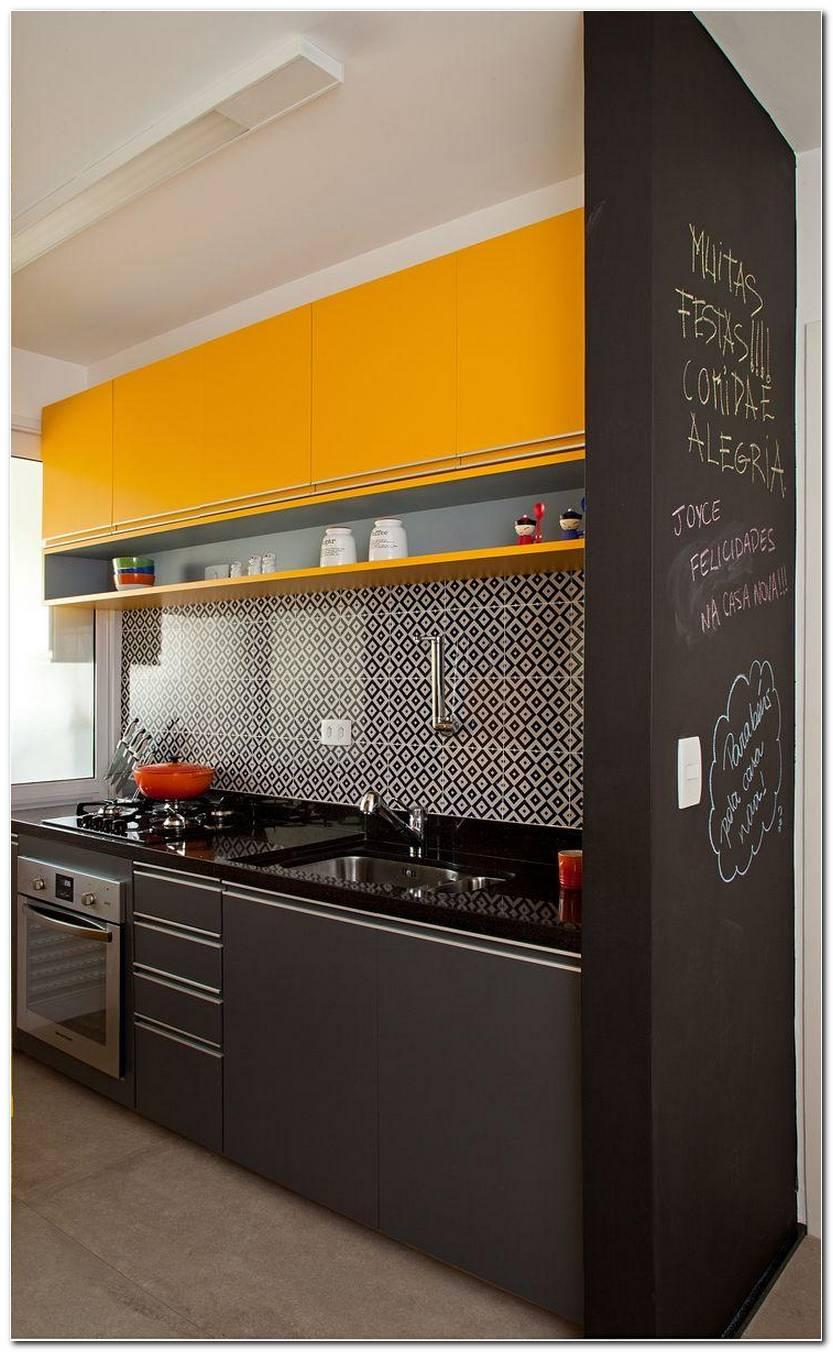 Cozinhas Amarela E Preta