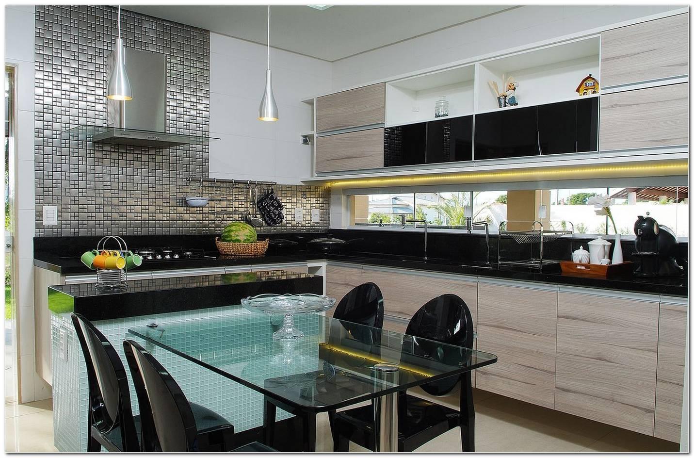 Cozinhas Com Mesas Modernas