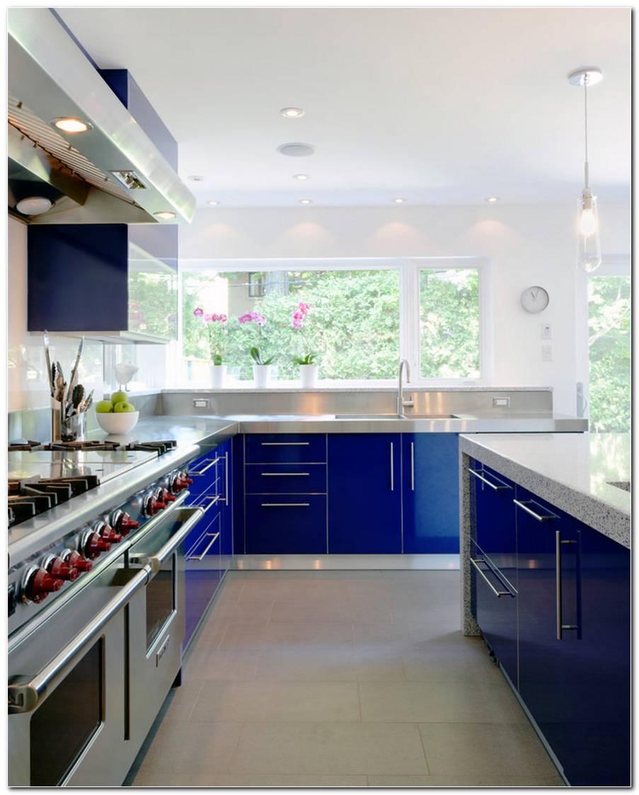 Cozinhas Decoradas Em Azul