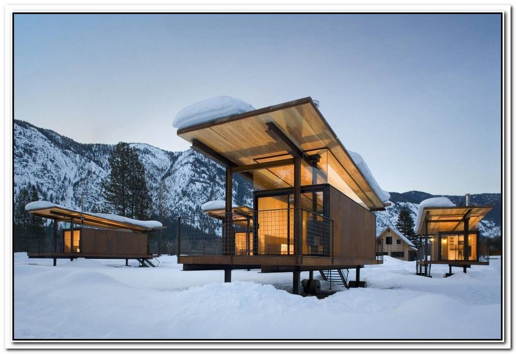 Cozy Alpine Cabins Surrounded By Extraordinary Beauty