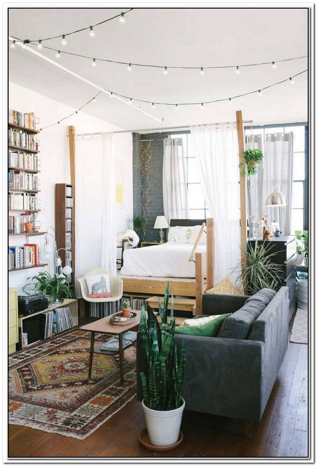Cozy Bachelor Loft Makeover