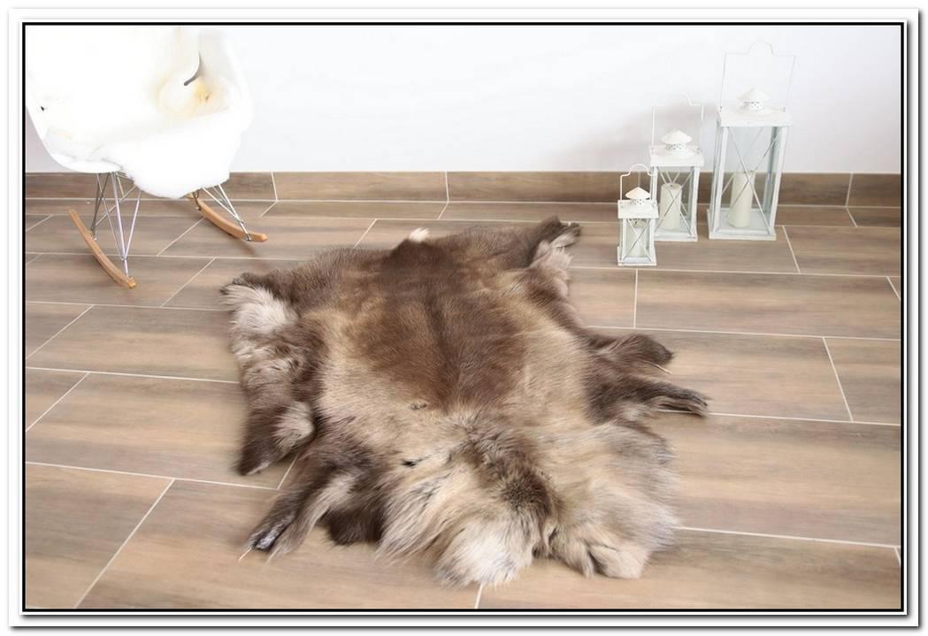 Cozy Reindeer Skin Rug