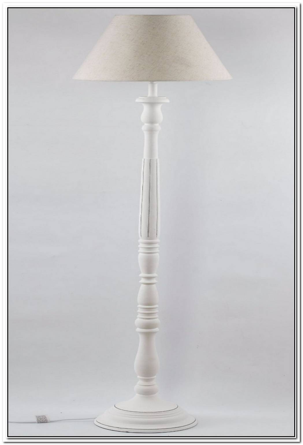Cream Floor Lamp
