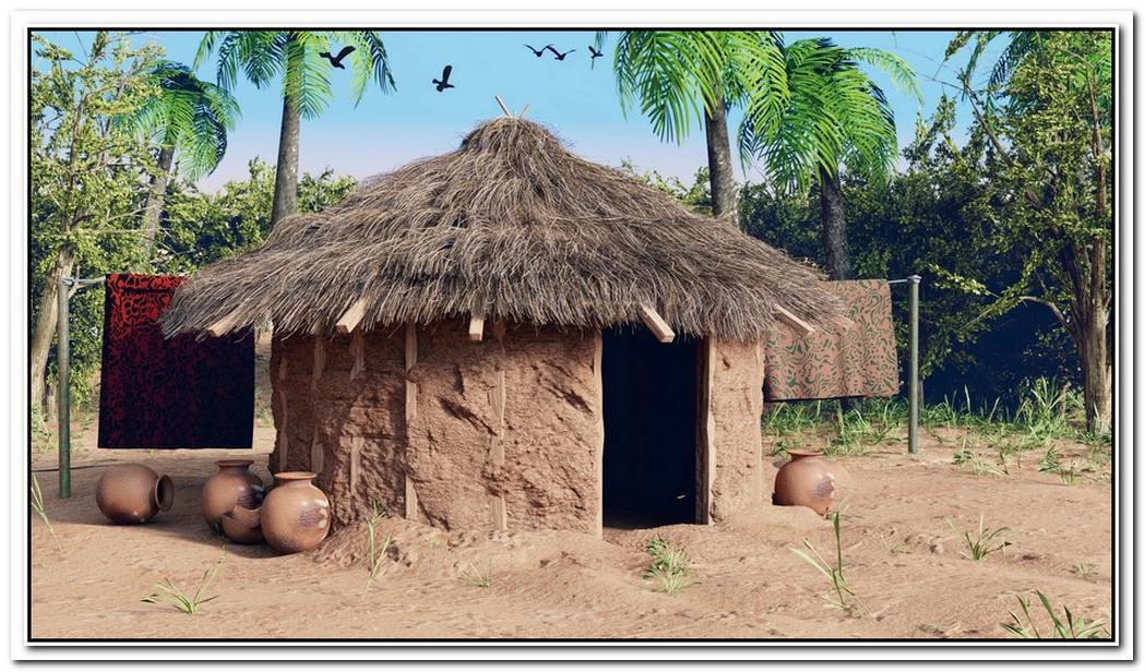 Creating An African Village In Blender