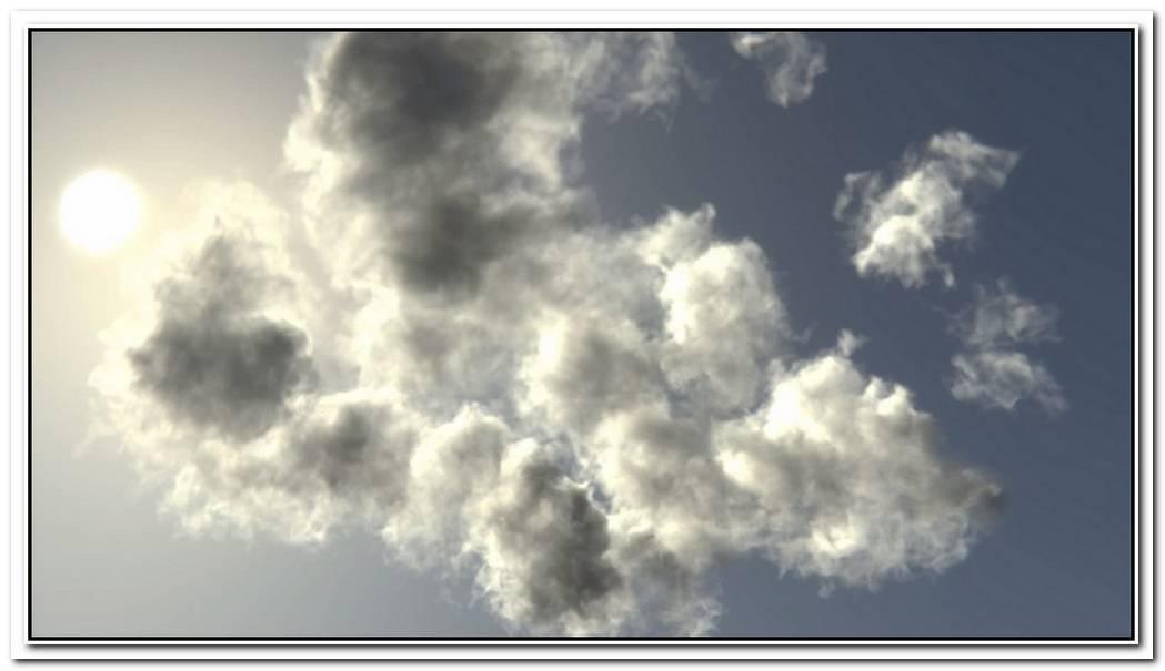 Creating Volumetric Clouds With Smoke Sim