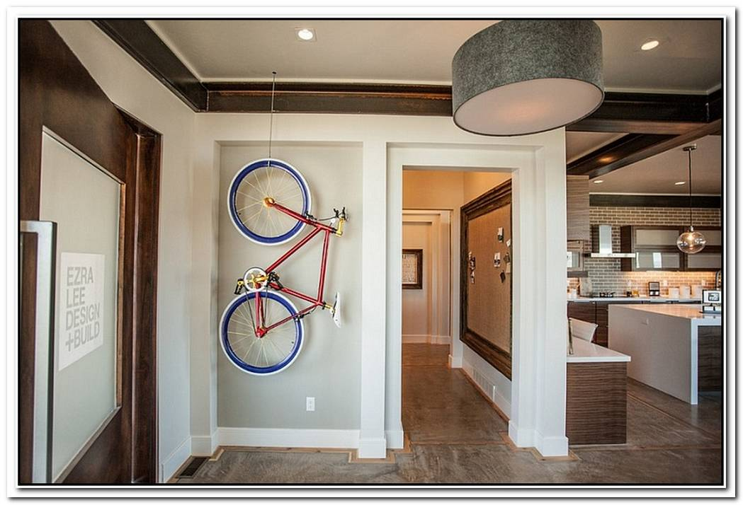 Creative Bike Storage And Display Ideas Blend Style With SmallSpace Solutions