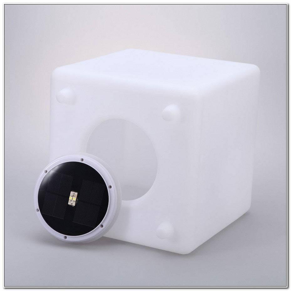 Cube Lumineux Solaire Exterieur