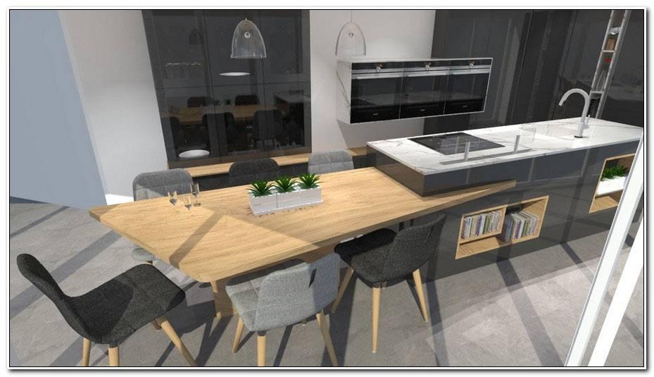 Cuisine Moderne Avec Table