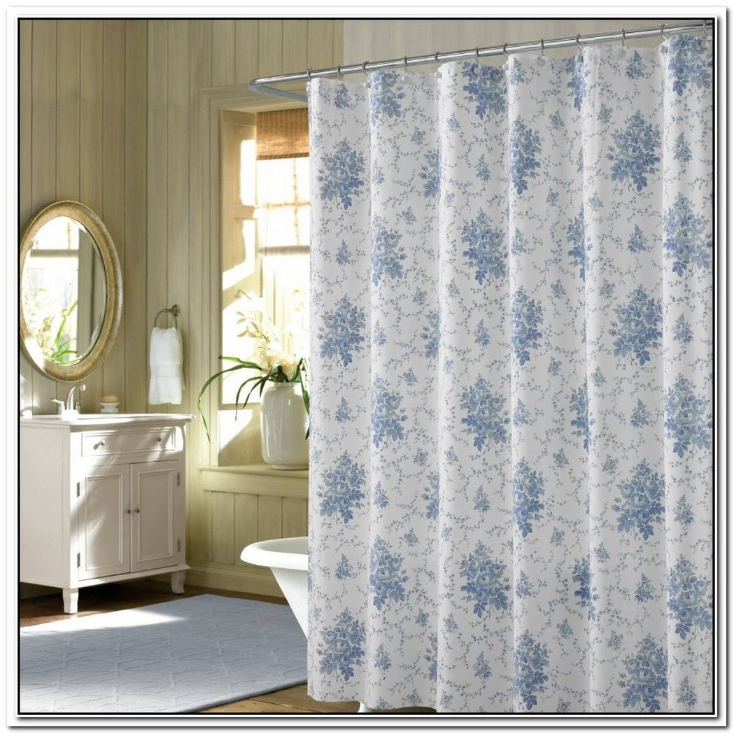 Curtains Traditional Bathroom Simple