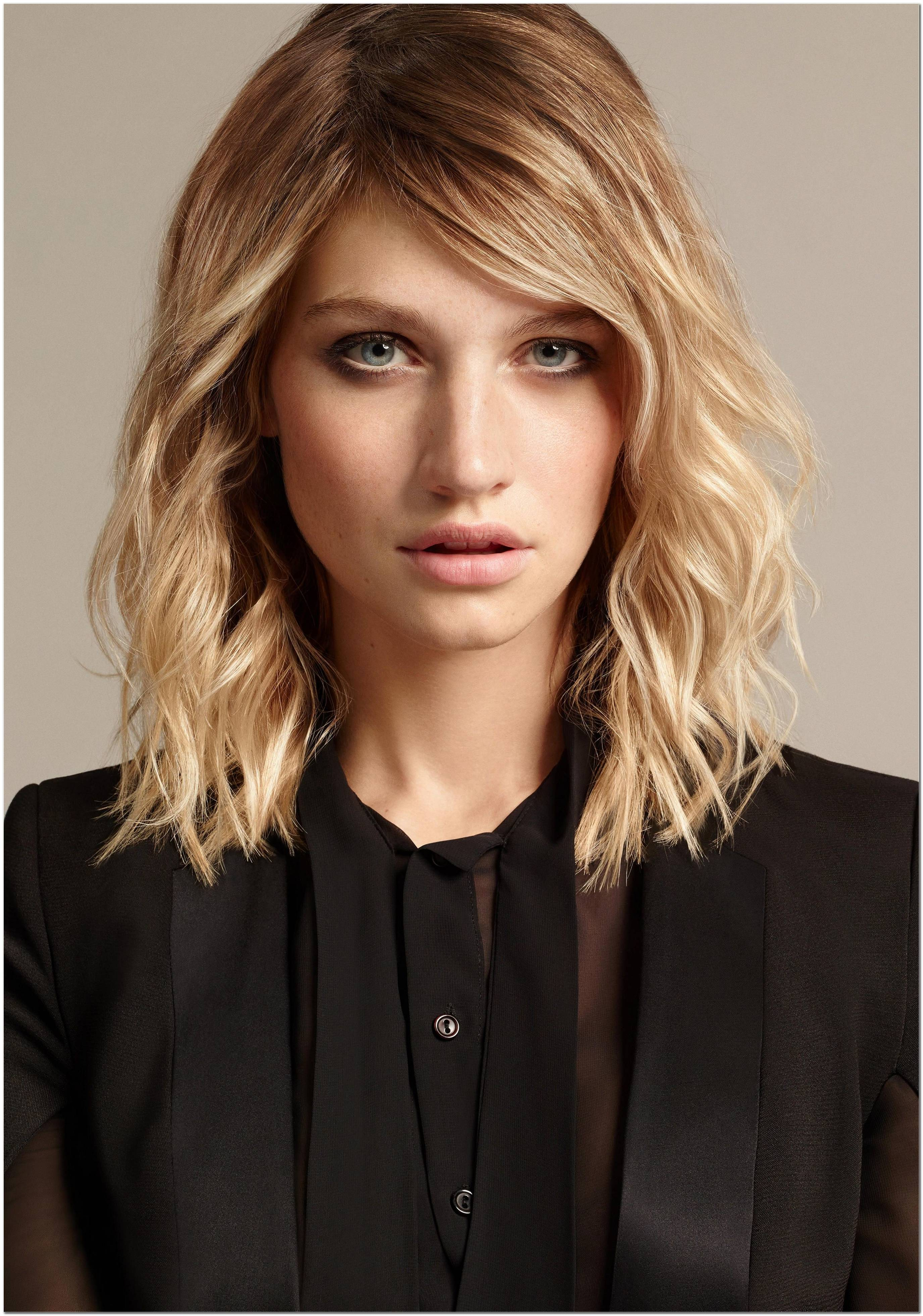 Damen Frisuren Mittellang