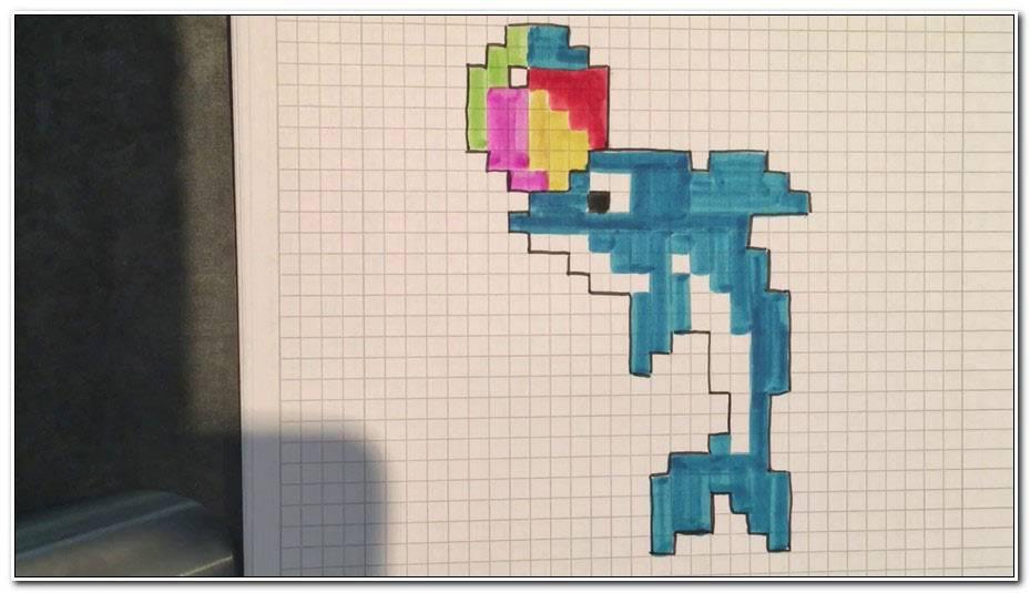 Dauphin Pixel Art