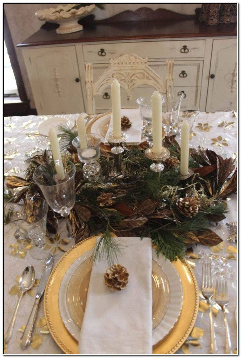 Dcor De Table De Noel