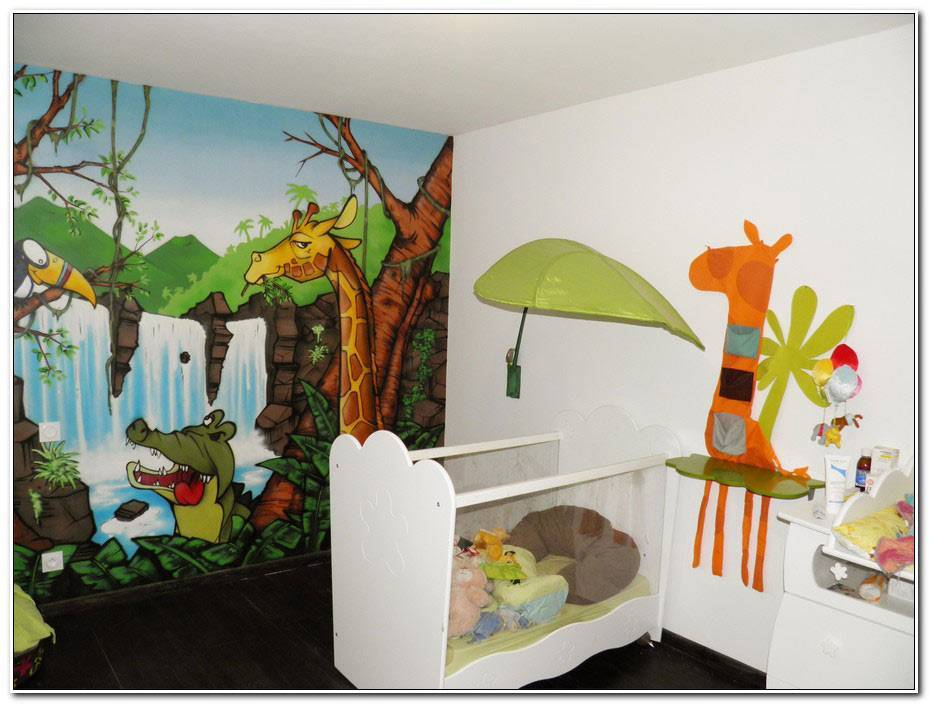 Deco Chambre Enfant Jungle