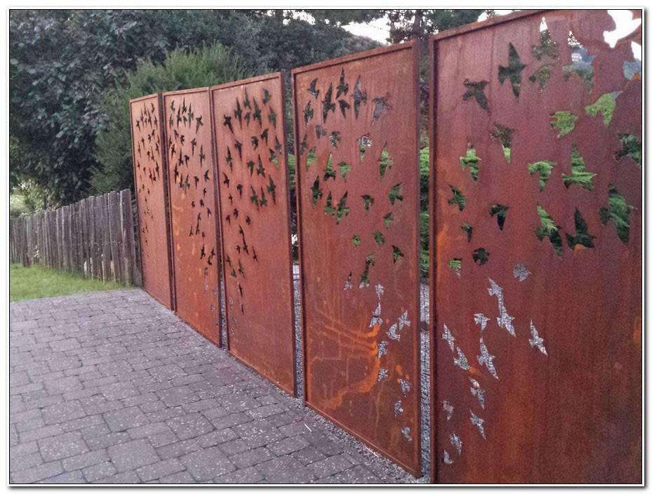 Deco Jardin Acier Corten