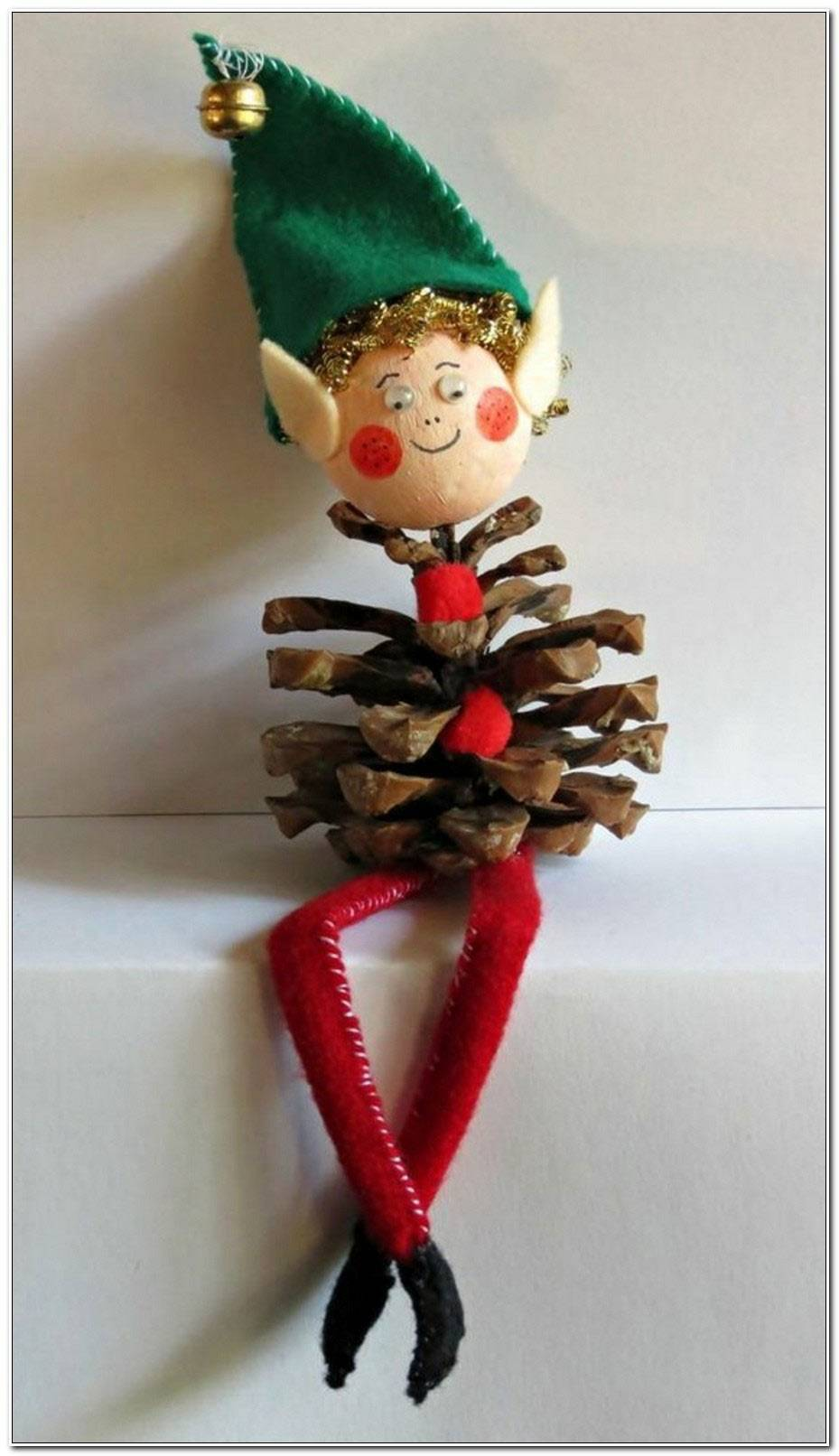 Deco Noel Avec Pomme De Pin
