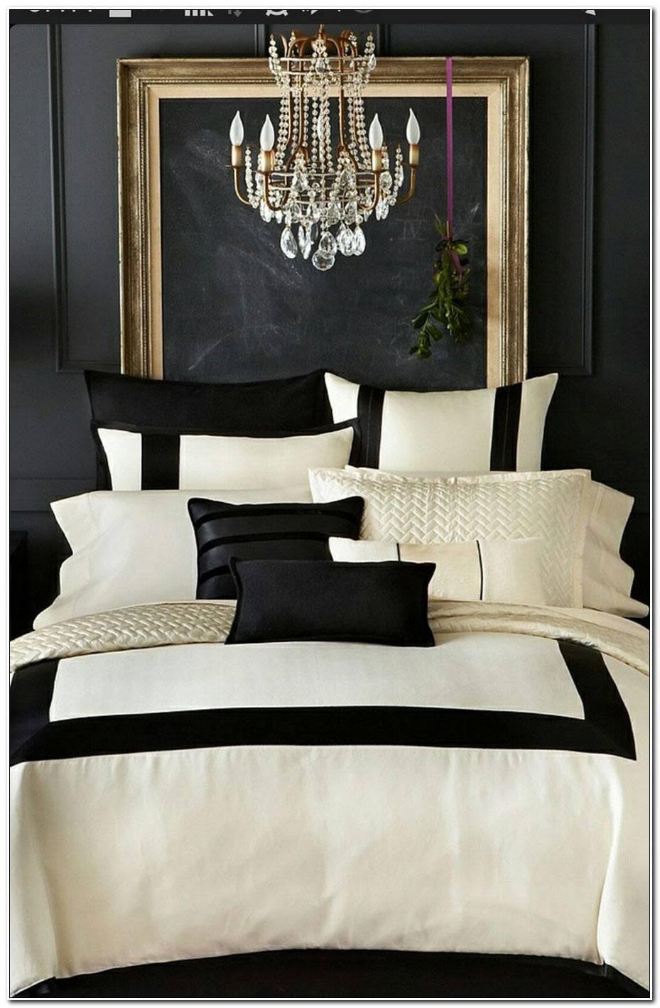 Deco Noir Et Blanc Chambre