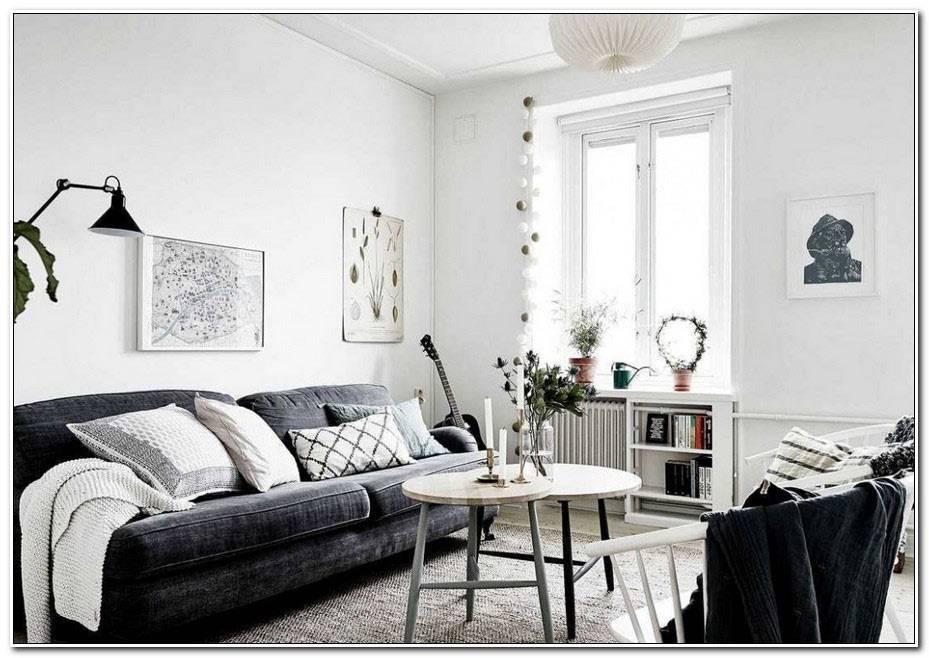 Deco Salon Moderne Noir Et Blanc