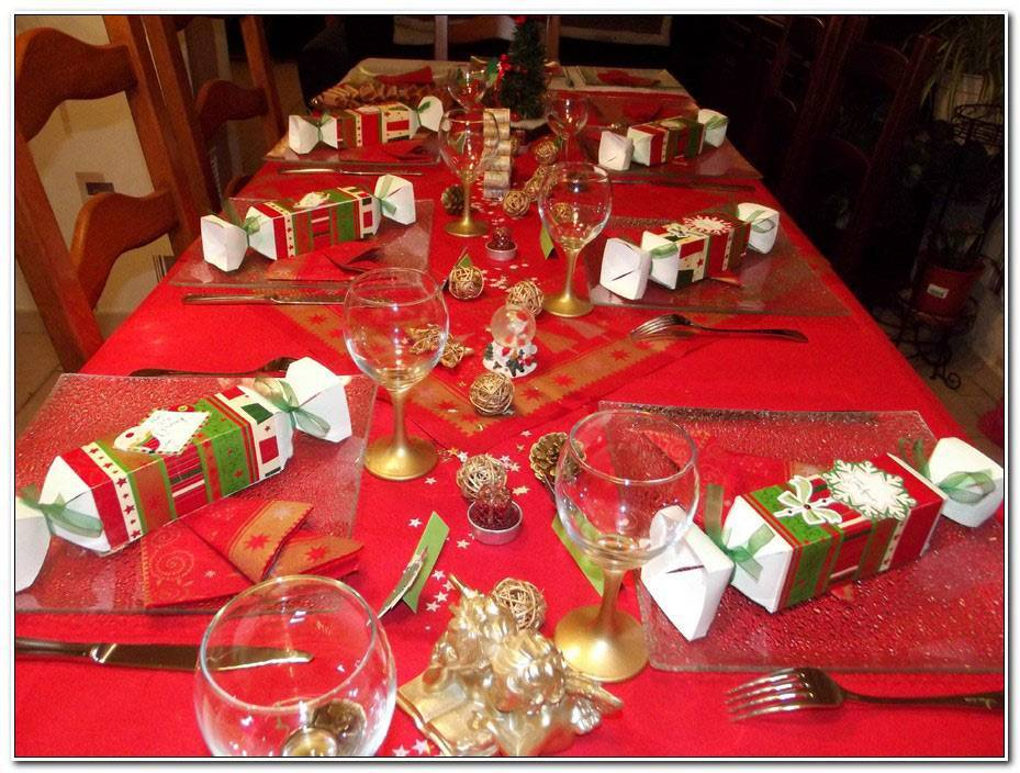 Deco Table Noel Facile