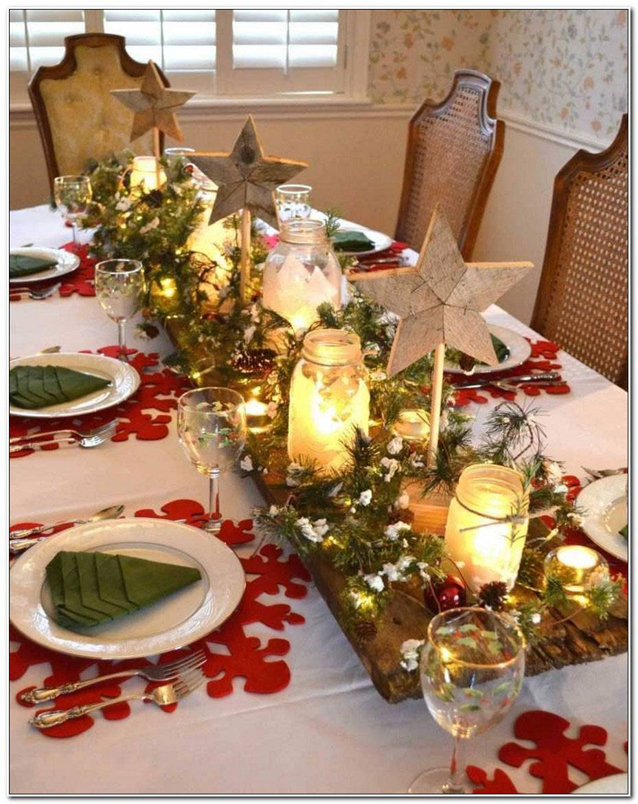 Decor De Table De Noel