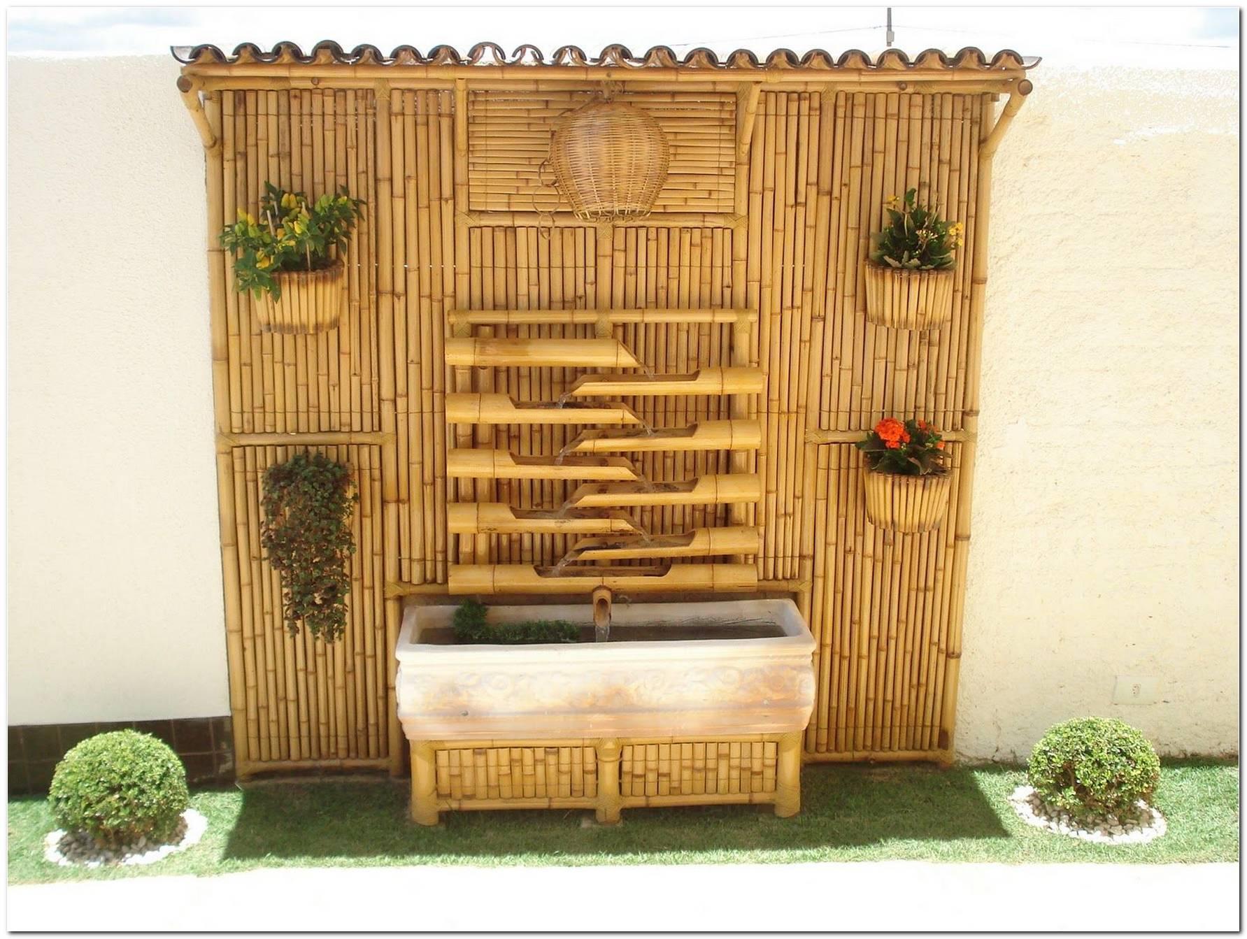 Decoração Com Bambu Para Jardim