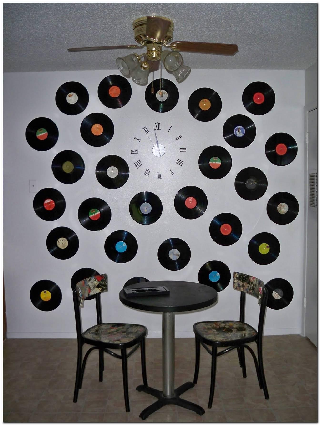 Decoração Com Disco De Vinil 25 Ideias